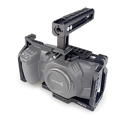 Buy Magicrig Bmpcc 4k 6k Camera Cage With Nato Handle For Blackmagic Design Pocket Cinema Camera 4k Camera 6k Online In Ethiopia B07rdbxhvr