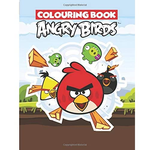 Buy Angry Birds Colouring Book Paperback – December 14, 2019 Online In  Ethiopia. 167536091X