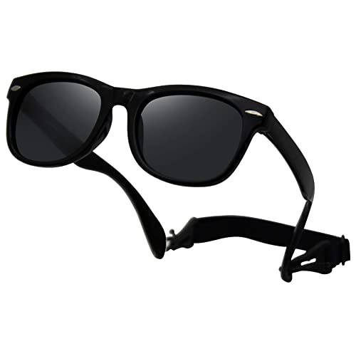 Toddler//Baby Flexible UV Protection Polarized Sunglasses Small for Age 0-3