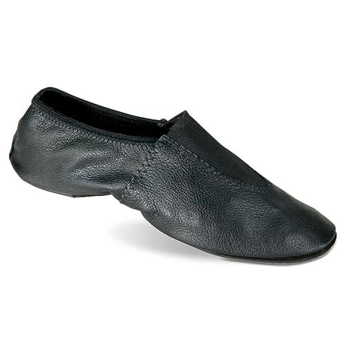 Danshuz Girls White Soft Leather Upper Gymnastic Shoes 10 Toddler-12 Kids