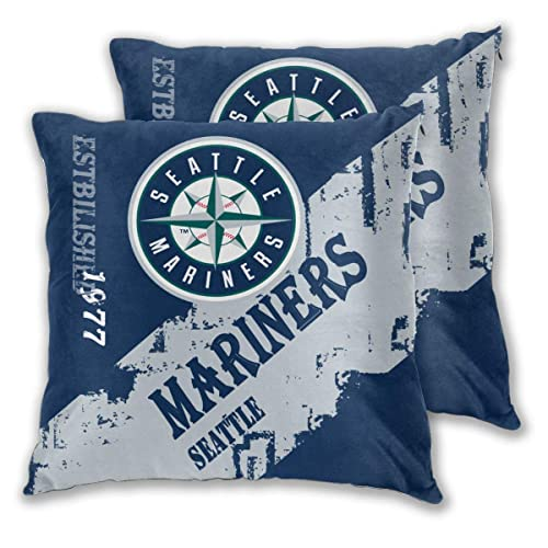 Buy Waynejunior Seattle Sports Baseball Throw Pillowcase 20 X20 Inch Hidden Zipper Home Decoration Double Sided Printing Gift Decorative Pillow Cover Online In Ethiopia B07xlz9dz3