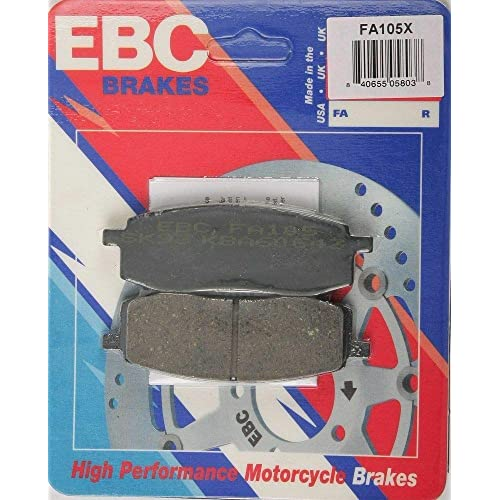 X Series Carbon Brake Pads FA105X EBC
