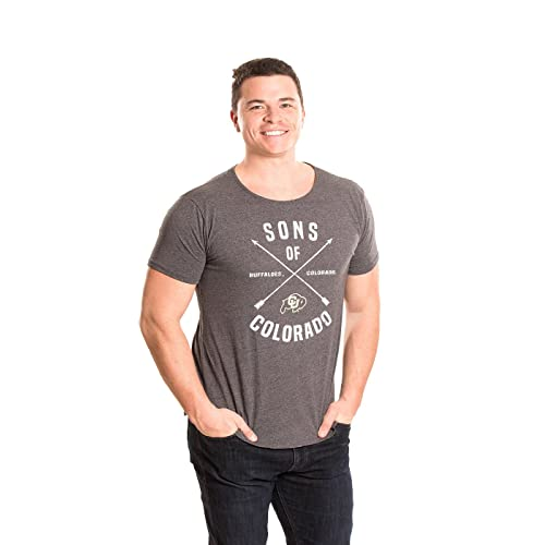 Alma Mater NCAA Mens Mens Organic Seaweed Ink Short Sleeve Crew Neck T-Shirt